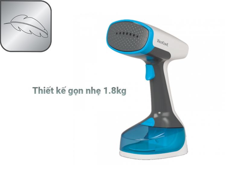 Bàn ủi hơi nước cầm tay dạng du lịch Tefal DT7000E0   Thiết kế gọn nhẹ
