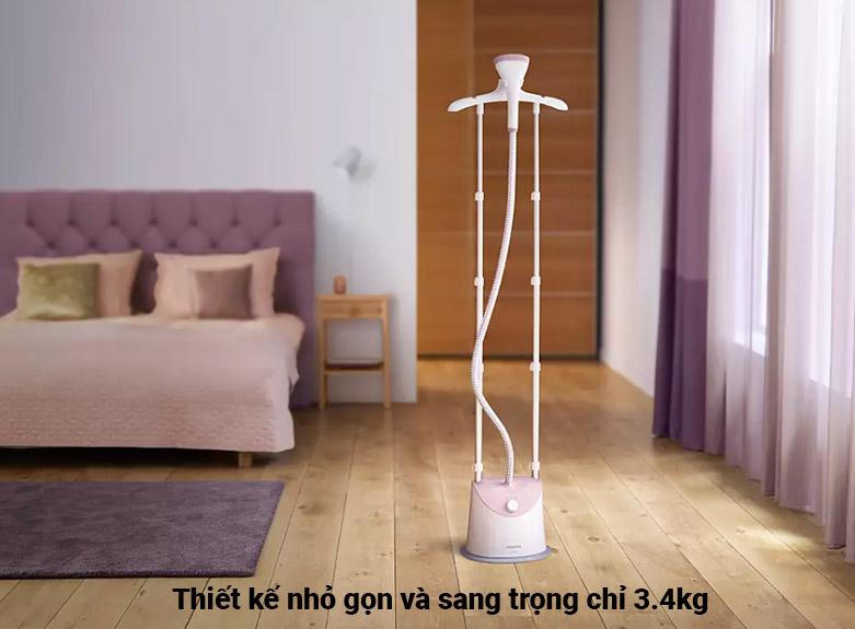 Bàn ủi hơi nước đứng Philips GC485   Thiết kế nhỏ gọn và sang trọng
