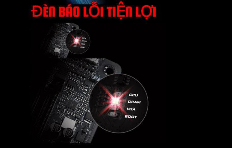 Mainboard Asrock Z490 Phantom Gaming4   Đèn báo lỗi