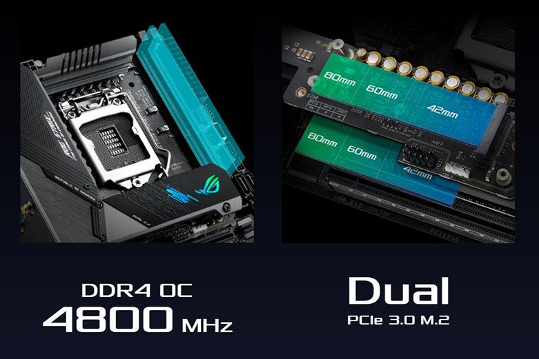 Mainboard Asus Rog Strix Z490-I Gaming   Hiệu suất tăng cường