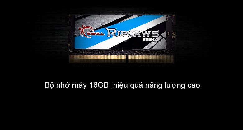 Bộ nhớ laptop DDR4 G.Skill 16GB (2666) F4-2666C19S-16GRS | Bộ nhớ máy 16GB, hiệu quả năng lượng cao