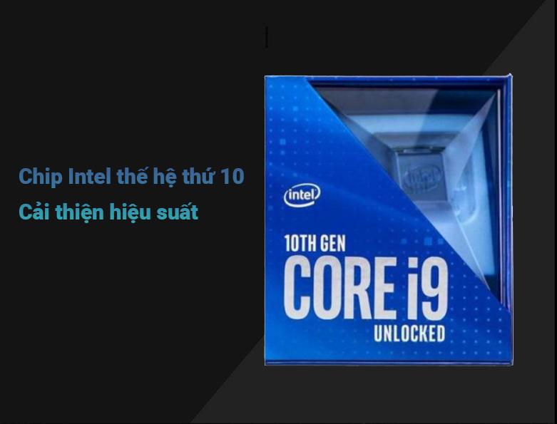 Bộ vi xử lý Intel Comet Lake Core i9-10900F   Cải thiện hiệu suất