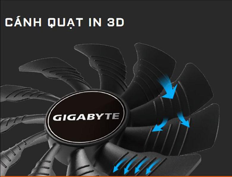 VGA Gigabyte GeForce GTX 1660 Super Mini ITX OC 6G   Quạt in 3D