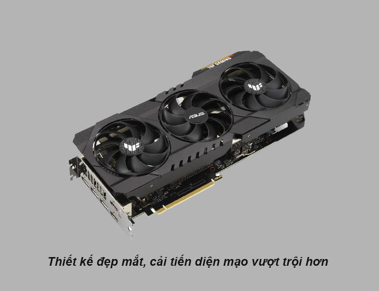 Card màn hình Asus Tuf Geforce RTX 3090 24GB GDDR6X   Thiết kế đẹp mắt