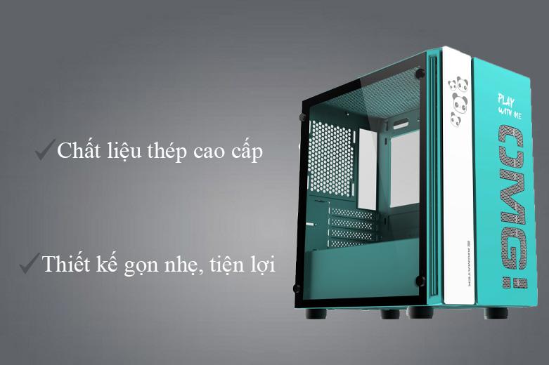 Thùng máy/ Case Xigmatek OMG Aqua EN45808 (No Fan) | Chất liệu cao cấp chắc chắn, kích thước nhỏ gọn
