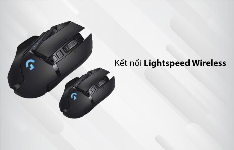 Chuột máy tính gaming không dây Logitech G502 Lightspeed (Đen) | kết nối không dây Lightspeed Wireless