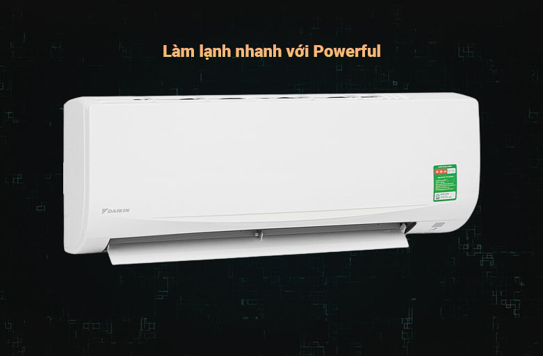 Máy lạnh Daikin 1.5 HP ATF35UV1V | Làm lạnh nhanh