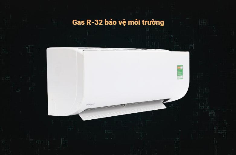 Máy lạnh Daikin 1.5 HP ATF35UV1V Bảo vệ môi trường