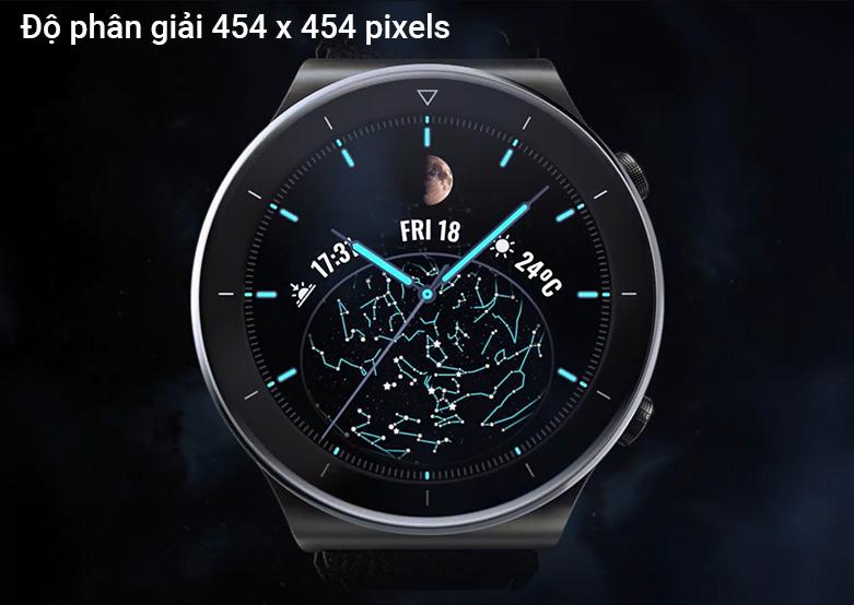 Đồng hồ thông minh HUAWEI GT2 PRO DÂY DA (Nebula Gray) | Độ phân giải cao