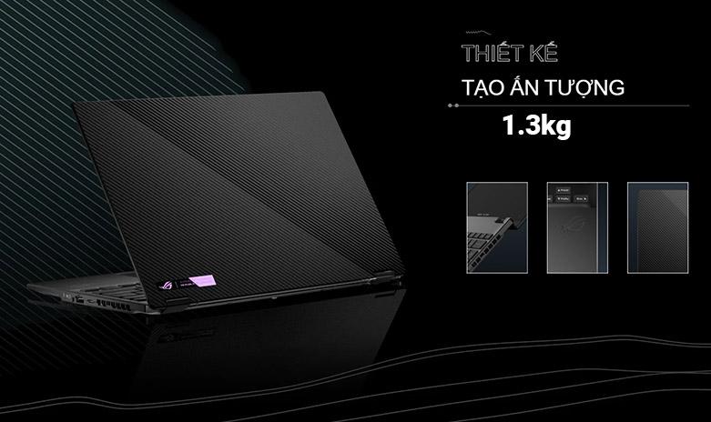 Laptop ASUS ROG Flow X13 GV301QH- K6054T   Thiết kế ấn tượng