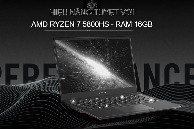Laptop ASUS ROG Flow X13 GV301QH- K6054T   Hiệu năng vượt trội