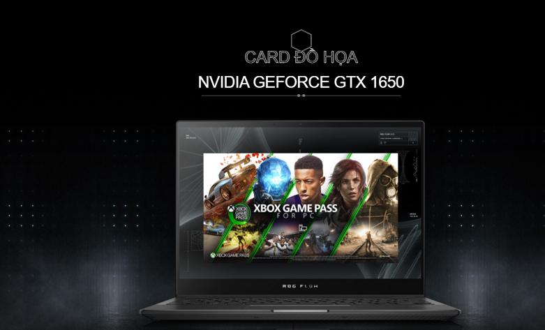 Laptop ASUS ROG Flow X13 GV301QH- K6054T   Card đồ họa rời cao cấp