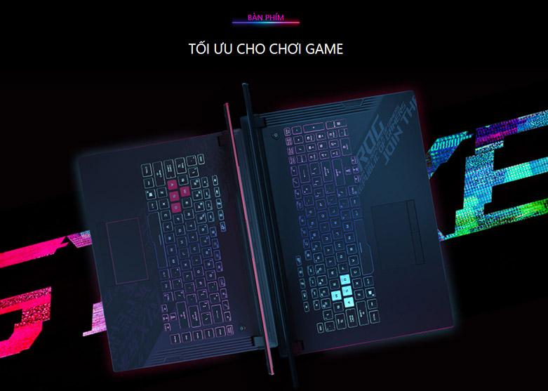 Laptop Asus ROG Strix G15 G512-IAL001T | Bàn phím dành cho game thủ
