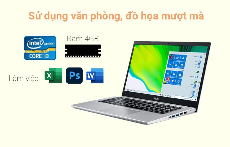 Laptop Acer Aspire 5 A514-54-38AC | Hiệu năng mạnh mẽ
