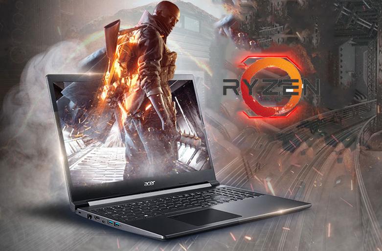 Laptop Acer Aspire 7 A715-41G-R282 (NH.Q8SSV.005) | CPU dòng AMD Ryzen 5