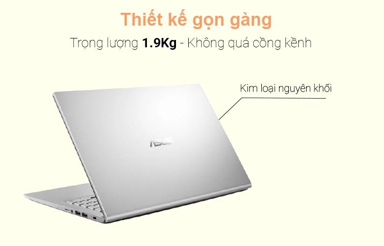 Laptop Asus D515UA-EJ082T (AMD Ryzen 7 5700U) (Xám) | Thiết kế gọn gàng
