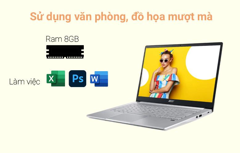 Laptop Asus D515UA-EJ082T (AMD Ryzen 7 5700U) (Xám) | Hiệu năng mạnh mẽ