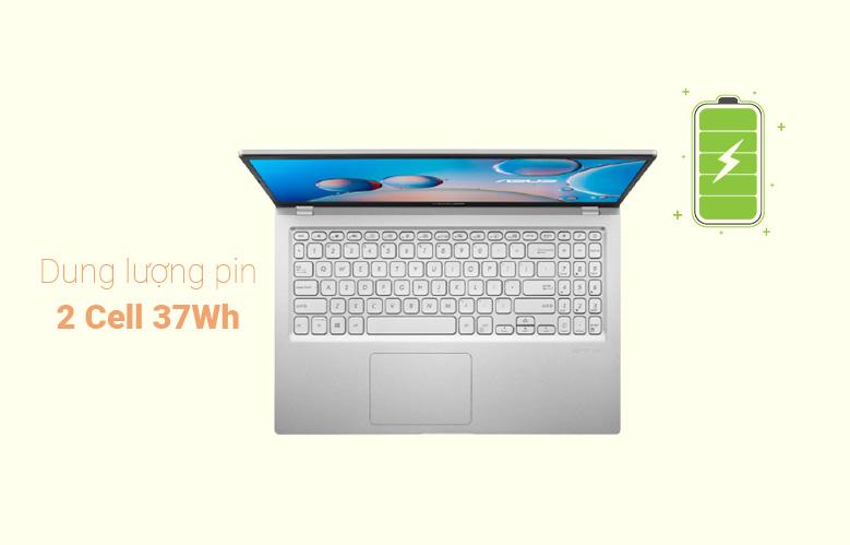 Laptop Asus D515UA-EJ082T (AMD Ryzen 7 5700U) (Xám) | Dung lượng pin lớn