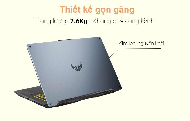 Laptop Asus TUF Gaming FA706IU-H7133T | Thiết kế mạnh mẽ