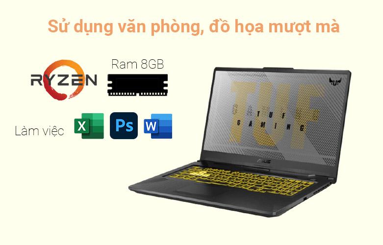 Laptop Asus TUF Gaming FA706IU-H7133T | Hiệu năng tối ưu