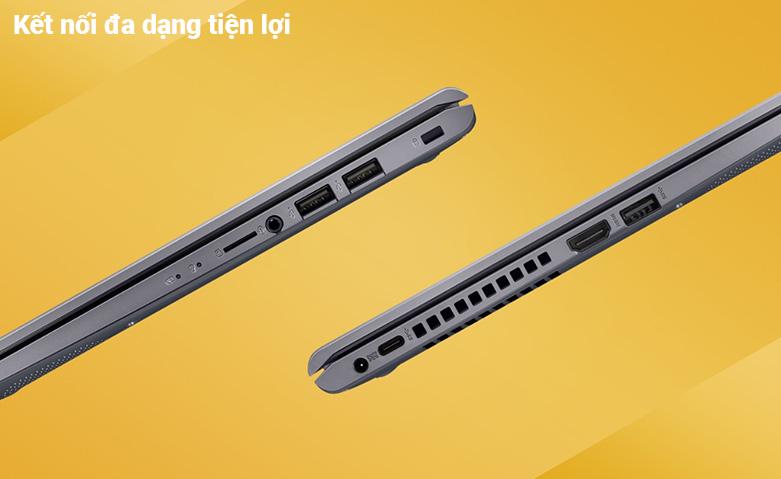 Laptop Asus Vivobook X415MA-BV088T (N5030) (Bạc) | Đa dạng cổng kết nối