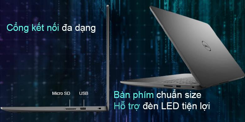 Laptop Dell Inspiron 15 3501 (N3501C-P90F005N3501C) | Cổng kết nối đa dạng
