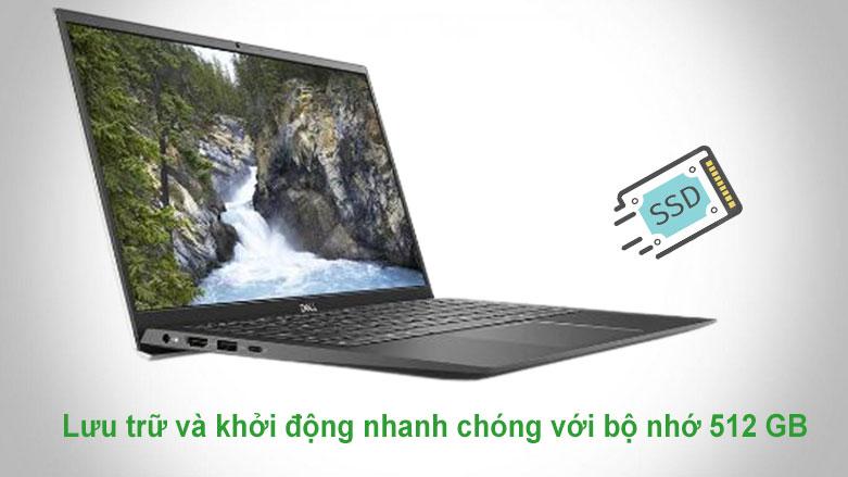 Laptop Dell Vostro 13 5301 (5301-V3I7129W) | Lưu trữ và khởi động nhanh chóng