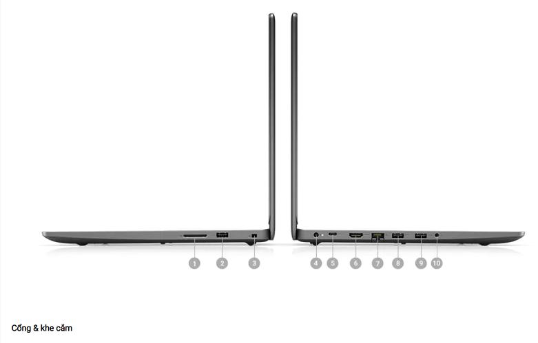 Laptop-Dell-Vostro-14-3400-3400-70234073 | Cổng kết nối đa dạng