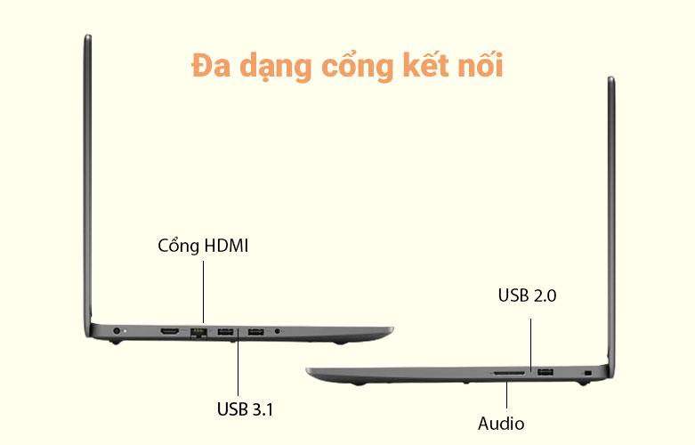 Laptop Dell Vostro 15 3500 (3500-7G3981) (i5-1135G7) | Đầy đủ các cổng kết nối