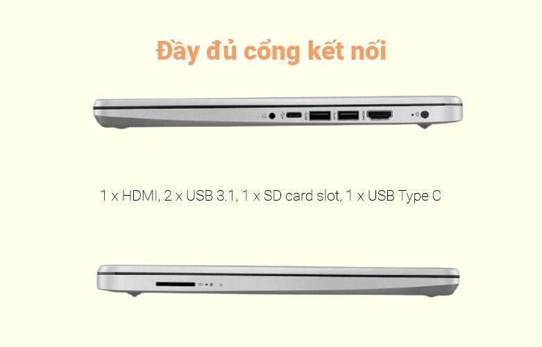 Laptop HP 340s G7 (224L0PA) | Tích hợp nhiều cổng kết nối hiện đại