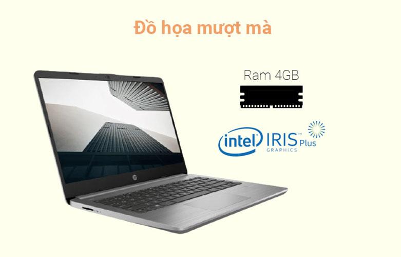 Laptop HP 340s G7 (2G5C6PA) (i7-1065G7) (Xám) | Đồ họa mượt mà