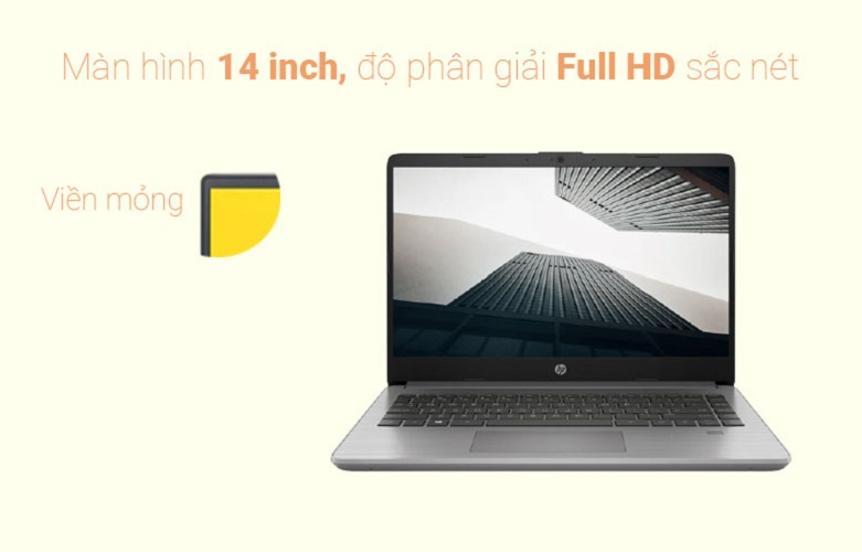 Laptop HP 340s G7 (36A37PA) | Màn hình 14 inch