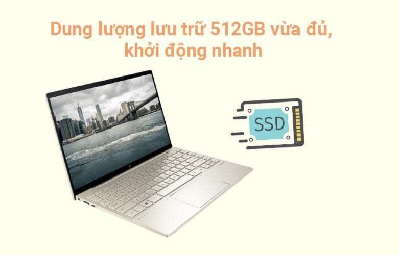 Laptop HP Envy 13-ba1028TU (2K0B2PA)   Dung lượng lưu trữ cao