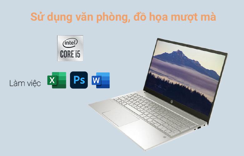Laptop HP Pavilion 15-eg0006TX (2D9C9PA) (i5-1135G7) (Vàng) | Hiệu năng ấn tượng