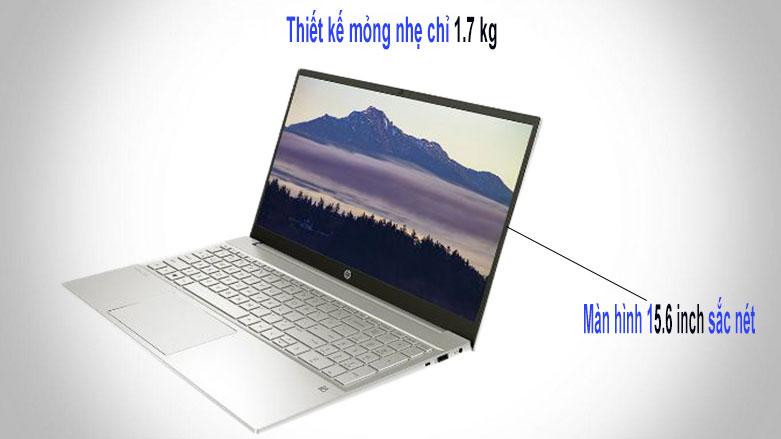 Laptop HP Pavilion 15-eg0009TU (2D9K6PA) (i3-1115G4) (Vàng) | Thiết kế mỏng nhẹ