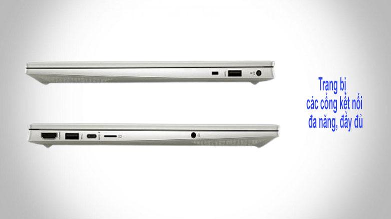 Laptop HP Pavilion 15-eg0009TU (2D9K6PA) (i3-1115G4) (Vàng) | Cổng kết nối đa dạng