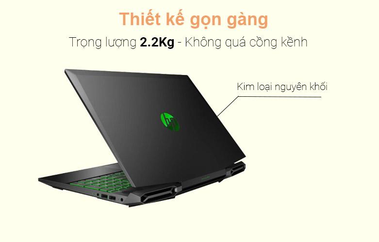 Laptop HP Pavilion Gaming 15-dk1075TX (1K3V0PA) | Thiết kế hiện đại