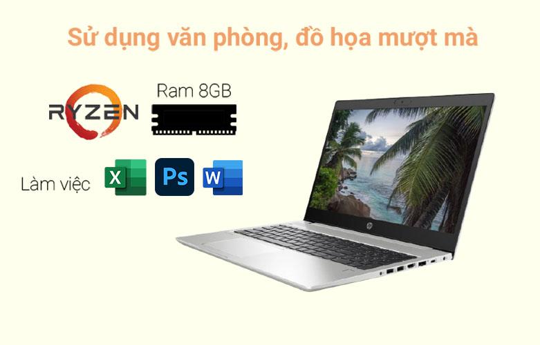 Laptop HP ProBook 455 G7-1A1B0PA   Sử dụng văn phòng, đồ họa mượt mà