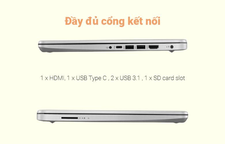 Laptop HP 340s G7 (240Q4PA) | Đầy đủ cổng kết nối hiện đại