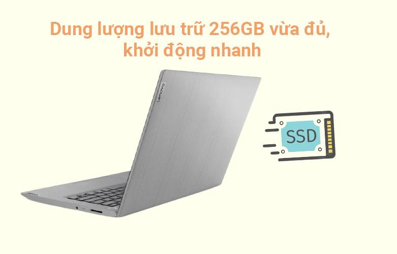 Laptop Lenovo Ideapad 3 14IIL05-81WD00JDVN | ổ cứng SSD 256 GB M.2