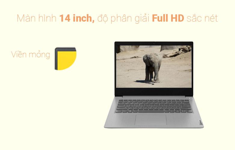 Laptop Lenovo Ideapad 3 14IIL05-81WD00JDVN | Màn hình full HD 14 inch