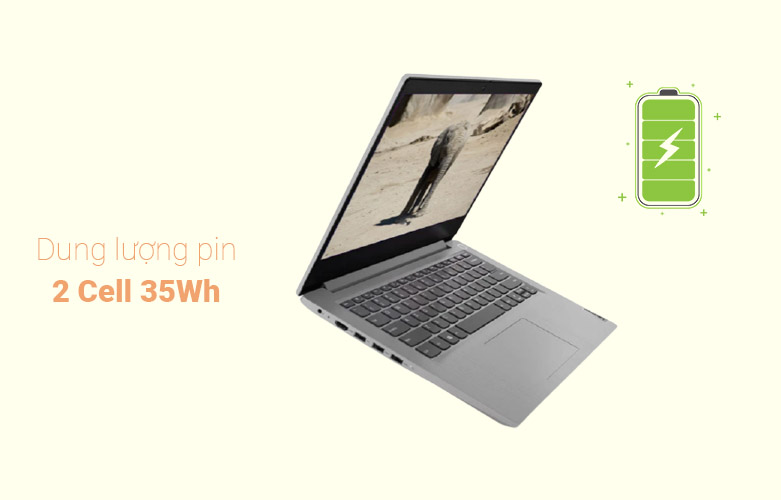 Laptop Lenovo Ideapad 3 14IIL05-81WD00JDVN | Pin 2 cell 35Wh