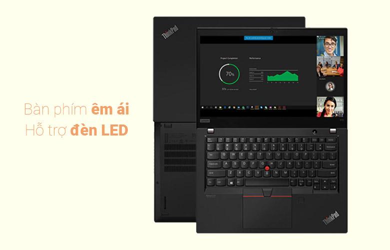 Laptop Lenovo Thinkpad X13-20T2S01E00 | bàn phím có hệ thống đèn led