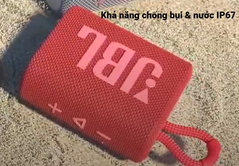 JBL GO 3 (Red) | Loa Bluetooth JBL GO 3