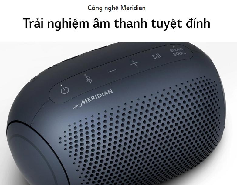 Loa Bluetooth LG PL2 (Xanh Đen) | Trải nghiệm âm thanh tuyệt đỉnh