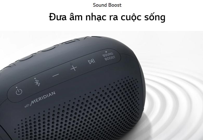 Loa Bluetooth LG PL2 (Xanh Đen) | Đưa âm thanh ra cuộc sống