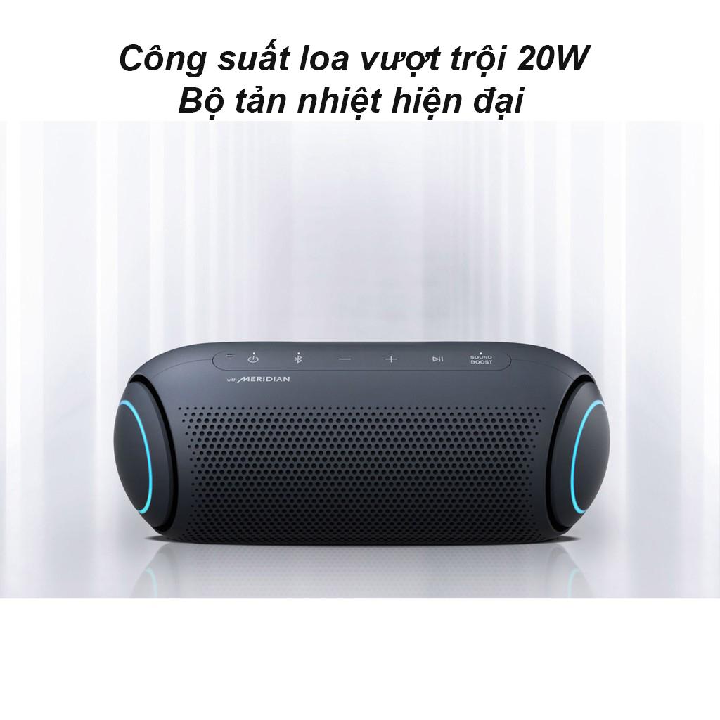 Loa Bluetooth LG PL5 (Xanh Đen)   Công suất loa vượt trội 20 W