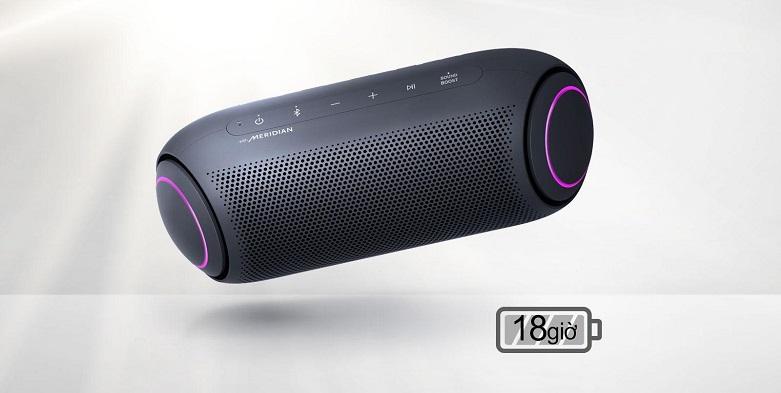 Loa Bluetooth LG PL5 (Xanh Đen)   Dung lượng pin 18 giờ