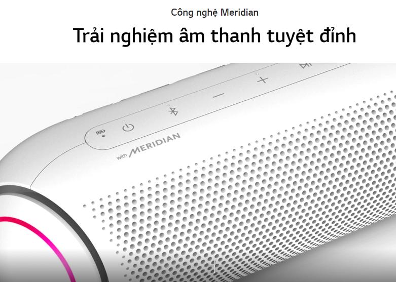Loa Bluetooth LG PL5W (Trắng)   Trải nghiệm âm thanh tuyệt đỉnh