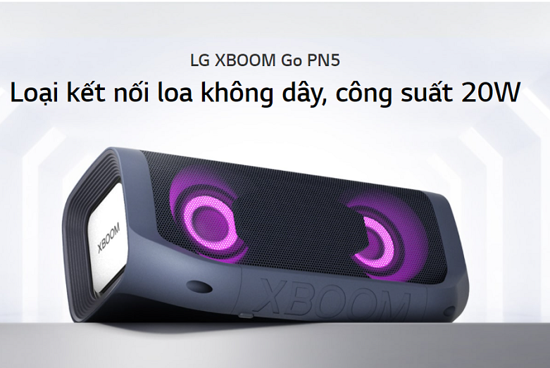 LG XBoomMGo PN5 Xanh Đen | Loa bluetooth LG XBoomMGo PN5 Xanh Đen
